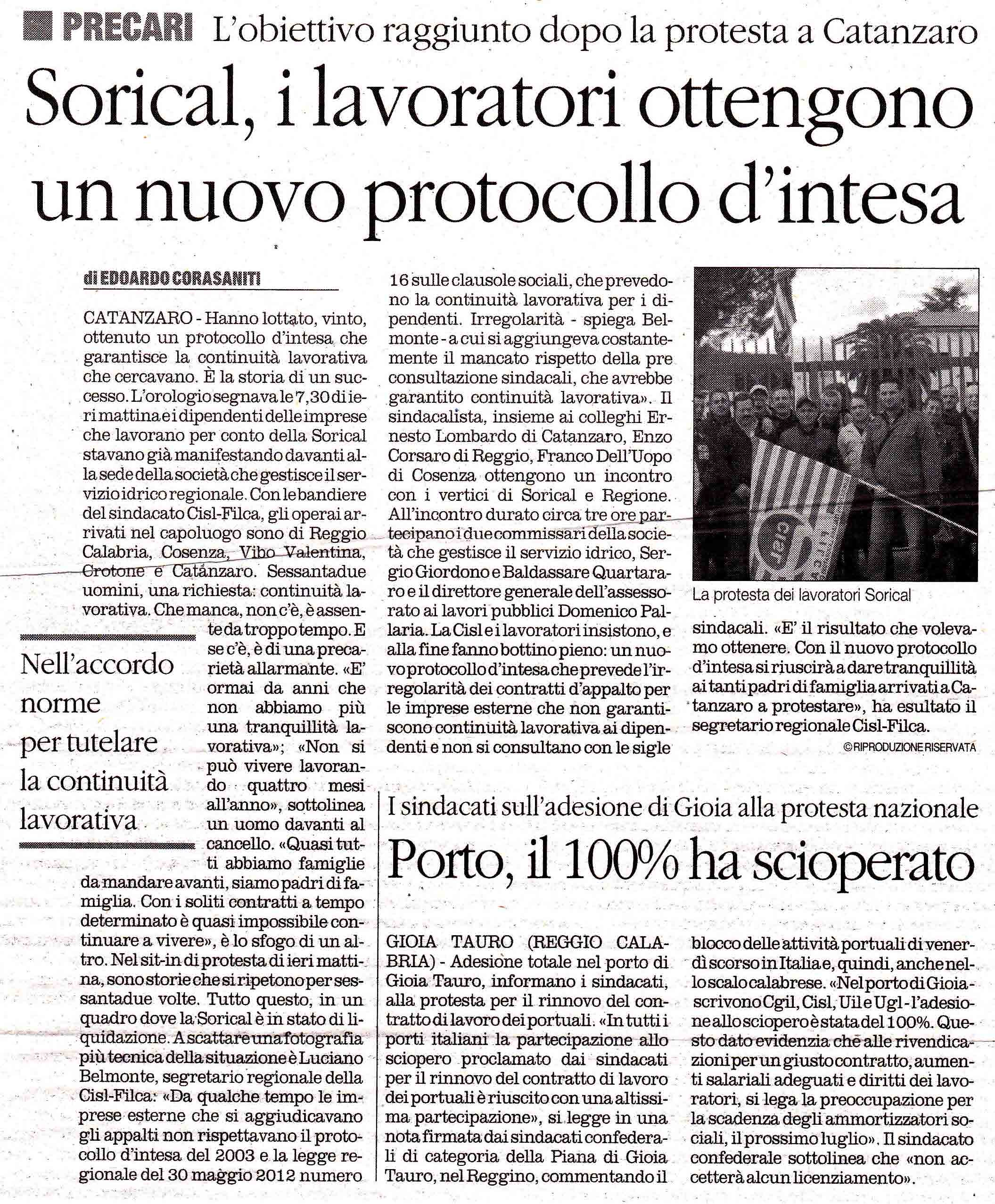 Il Quotidiano 15.11.2013