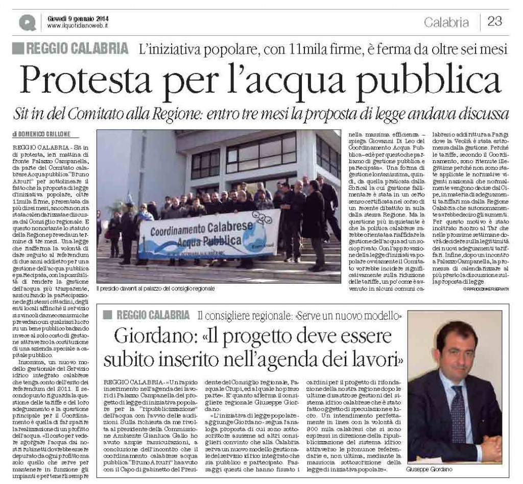 il quotidiano 09.01.2014